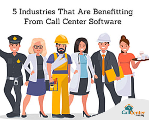 5 Industries That Are Benefiting from Call Center Software